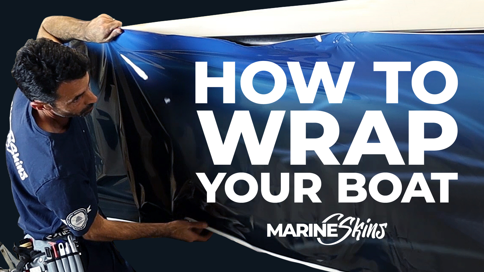 how to wrap your boat